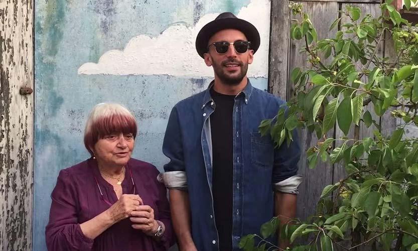 Agnès Varda et JR
