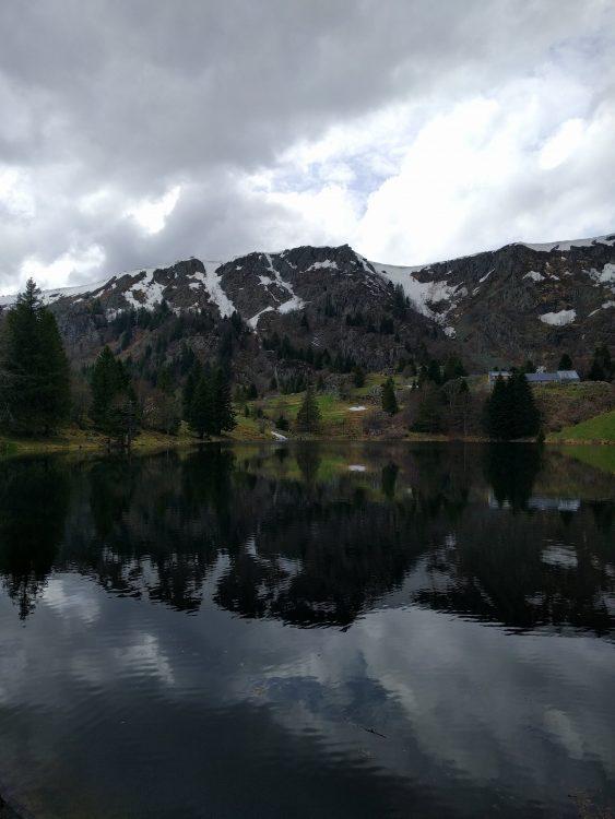 Lac forlet printemps