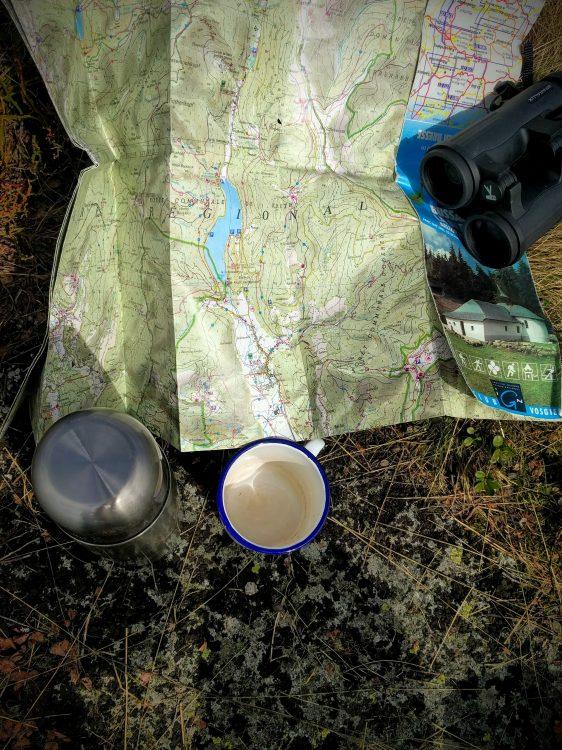 carte randonnée vosges café